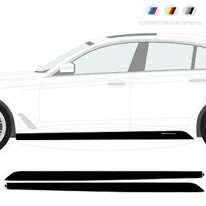 Compatible with BMW M5 Sport Side Skirt Vinyl STICKER G30 / G31 / F90