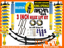 """TOYOTA HILUX KUN/GGN 2005-15 BILSTEIN & ARCH4X4 3""""INCH 75mm SUSPENSION LIFT KIT"""