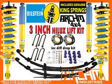 "BILSTEIN ARCH4X4 3""INCH 75mm SUSPENSION LIFT KIT FOR TOYOTA HILUX KUN/GGN 05-15"