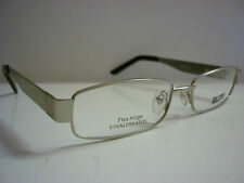 Elite Visage  329 Silver Wire Rimmed Frames Glasses Eyeglass Spectacles 843