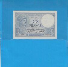10 Francs MINERVE  du 24-3-1932 Alphabet E.63802 Billet N° 1595029426