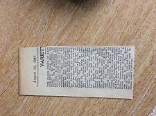 m6-2 ephemera 1949 article grand order of lady ratlings dorchester