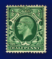 1934 SG439 ½d Green (Int Format) N46(1) Good Used  chjb