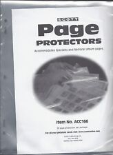 Scott Page Protectors for National and Specialty Albums (Pkg. 25)