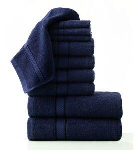 New 100/% Cotton Home Bath Linen Towel Bale Set of 8 piece 420 GSM UK