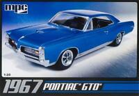 MPC 1967 Pontiac GTO 1:25 scale model car kit new 710