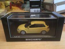 Minichamps 2004 Audi A3 Sportback Yellow 1/43 MIB Ltd Ed