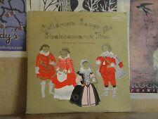 CHILDREN'S SONGS OF SHAKESPEARE'S TIME, NEW YORK PRO MUSICA ANTIQUA - LP CPT 540