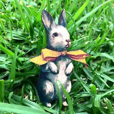 Rabbit brooch Wooden jewellery Bunny wood badge Animal lapel pin Gift jewelery