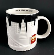 Starbucks Coffee Relief Global Icon Collector Series San Francisco CA Mug Cup