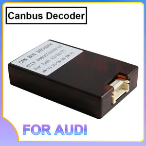 Car Canbus Decode Adapter Für AUDI A3 A4 TT Android Wince Autoradio Player GPS
