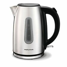 Morphy Richards Equip Jug Kettle 1.7 Litre 3000W Brushed Stainless Steel 102773
