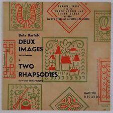 BARTOK: Deux Images Rhapsodies Violin VARDI Vinyl LP NM Rare! BARTOK RECORDS