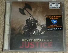 REV THEORY Justice CD + 2 Bonus Tracks   NEW Rare