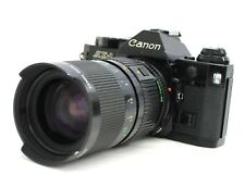 Canon AE-1 Program SLR Camera with New FD 35-70mm F/2.8-3.5 Zoom Lens from Japan
