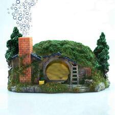 Aquarium Bubbler Decorations Fish Tank Hideout Castle for Fish Hide Hideaway