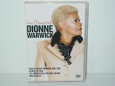 "*****DVD-DIONNE WARWICK""IN CONCERT""-2008 ZYX Records*****"