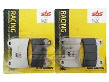 Aprilia RST 1000 2001 2002 2003 SBS Dual Carbon Front Brake Pads 706DC