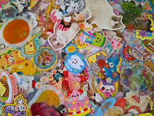 Kawaii Sticker Flakes Stationery Q-Lia Crux Kamio San-X Sanrio Lot of 100 pieces