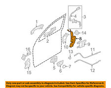 Genuine Hyundai 81391-2E000 Door Lock Cable Assembly Front