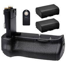 Battery Grip for Canon EOS 6D Mark II + 2x LP-E6 Battery + Remote