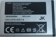 Replacement Battery For Samsung Gusto 3 Chrono 2 AB463446BA 800mAh