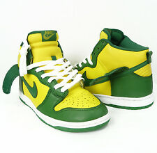 NIKE DUNK HIGH BRAZIL LE SHOES SNEAKERS DEADSTOCK SIZE 8.5 US