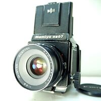 【EXC+5】 Mamiya RB67 Pro + Sekor C 127mm f/3.8 + 120 Film Back From Japan 075