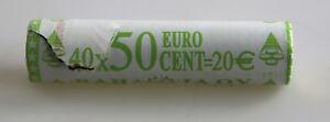 KMS Série de Monnaie Légale Rouleau 50 Cent Finlande 2001 non Ouvert Rôle la Vue