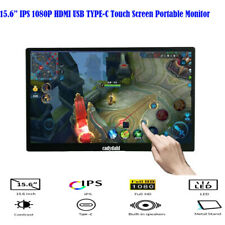 15.6 inch IPS 1080P USB Type-C USB-C Ultra Touch Screen Portable Monitor Display