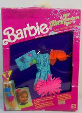MATTEL VTG 1991 BARBIE HAIR ULTRA CHEVELURE FASHIONS # 3819 Asst. 3824 EUROPEAN