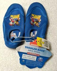 NWT Paw Patrol Toddler Boy's Aqua Shoes Blue Nickelodeon