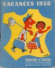 Tourisme et Travail - Vacances 1956