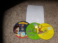 Lot of 3 PC Games - Curious George, Toy Story and Buzz lightyear