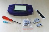Nintendo Game Boy Advance GBA Replacement Midnight Blue New Shell Housing  tools