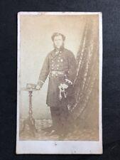 Victorian Carte De Visite CDV: Military Uniform: American Civil War?