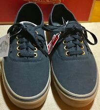 Vans Authentic Deluxe Black with Brown Gum Sole Mens Sz: 11 BRAND NEW! 295