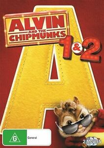 Alvin & The Chipmunks - The Squeakquel(DVD, 2010, 2Disc, R4)Used Good Condition