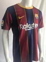 #10 Messi Barcelona FC 2020-2021 La Liga Home Football Soccer Jersey Mens Jersey