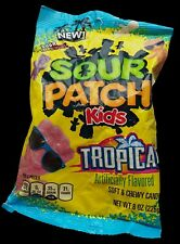 226g Sour Patch Kids Tropical Flavour Chewy American Candy Sweets Treats