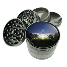 Washington D.C. D9 Titanium Grinder 4 Piece Magnetic Hand Mueller Monuments