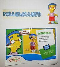 TT143 MILHOUSE + BPZ KINDER MERENDERO JOY ITALIA 2008 THE SIMPSONS