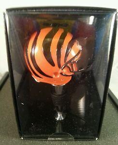 Cincinnati Bengals Helmet Bottle Stopper  - Wine Stopper - NFL