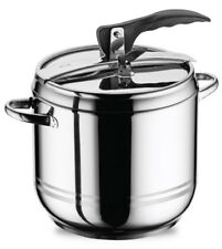 3.5 L Stainless Steel Stovetop Pressure Cooker Casserole Stockpot Induction Base