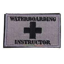Waterboarding Instructor Patch Tactical Embroidered Military Combat Patc