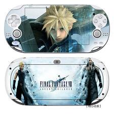 Final Fantasy VII Anime Manga Skin Aufkleber Für Sony PSV PSVITA PSP Neu