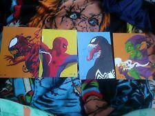 Set Of 4 Marvels Spiderman Art Cards