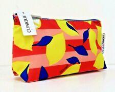 CLINIQUE x DONALD Makeup/Cosmetics/Travel Bag - Lemons - New