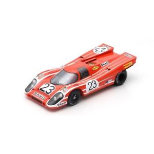 Spark 18LM70 1/18 Porsche 917K #23 R.Attwood/H.Herrmann Winner 24hr Le Mans 1970