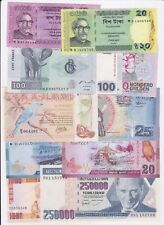 WORLD BANKNOTES 90% UNC 280 DIFFERENT WITH BETTER